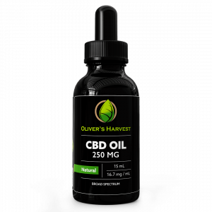 cbd oil drops, cbd tincture, hemp oil drops, hemp oil tincture, oliver's harvest, 250mg, 250 mg, natural